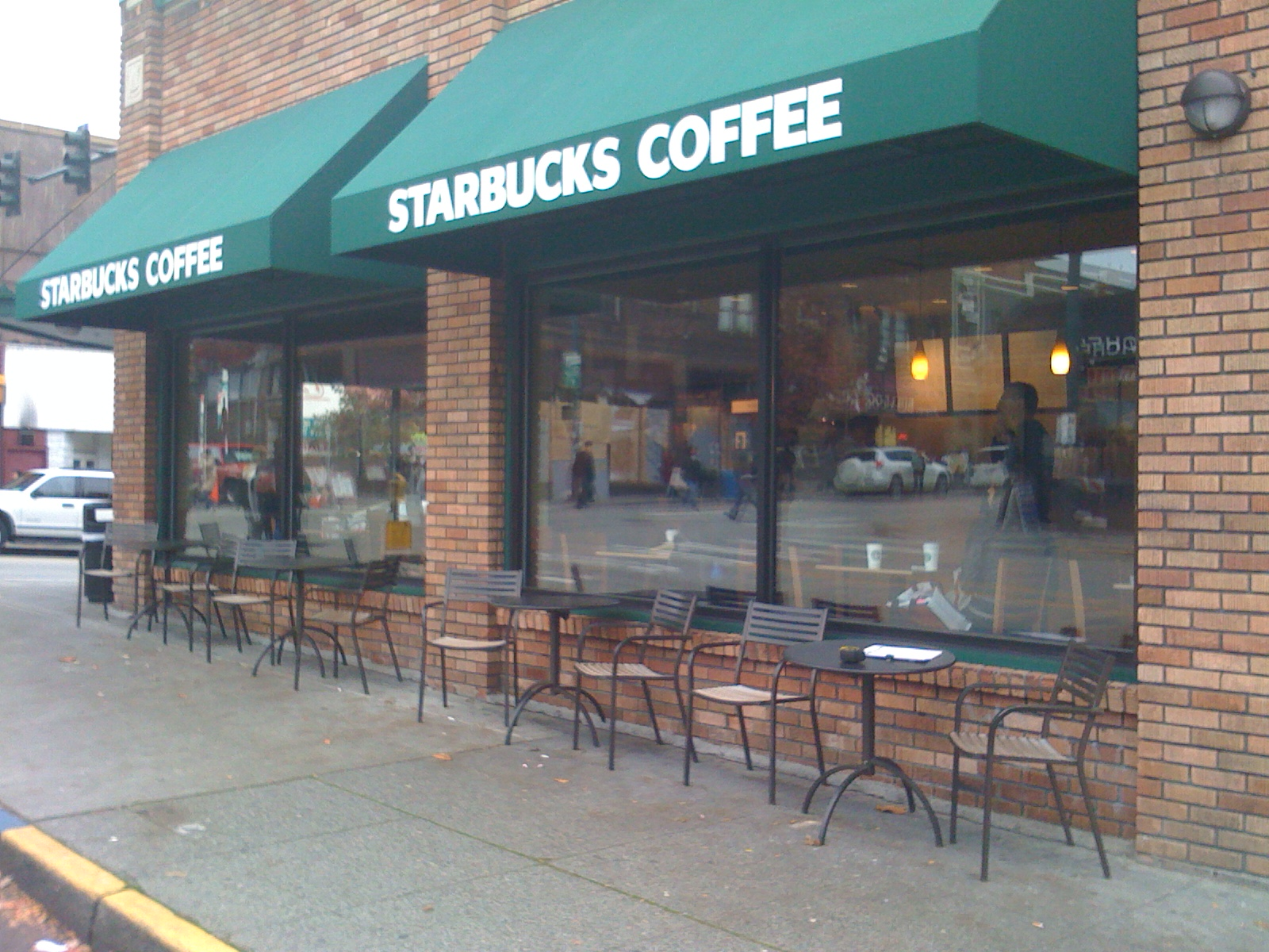 Tacoma To Seattle >> Graffiti Abatement For Starbucks Coffee | Sea-Tac Eco Friendly Window Films Coatings: Seattle ...