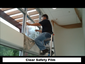 Clear Safety Film
