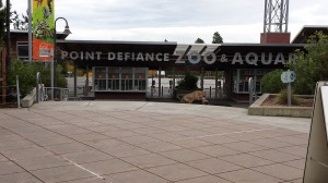 Point Defiance Zoo - 3M Anti Graffiti FIlm