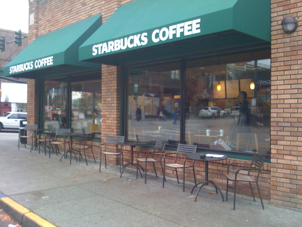 Starbucks Coffee - Anti Graffiti Film on Storefront