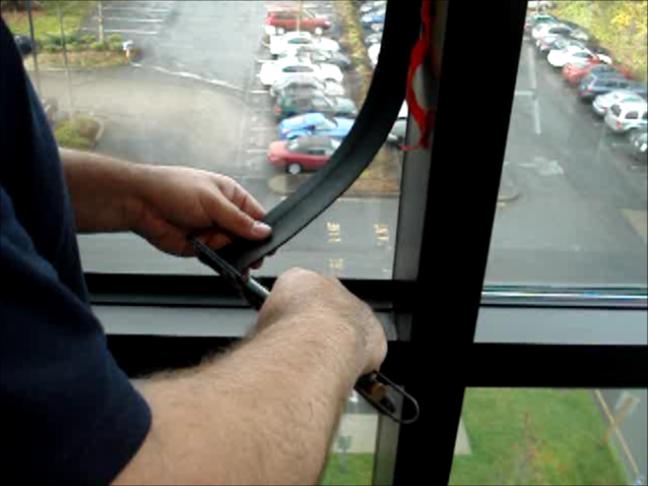 Pentagon Elite Mechanical attachement system - Cut to fit each window
